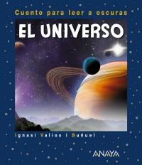 Portada de El universo. Cuento para leer a oscuras