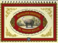 Portada de Animalario universal del Profesor Revillod. Fabuloso almanaque de la fauna mundial