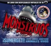 Portada de Monstruos marinos