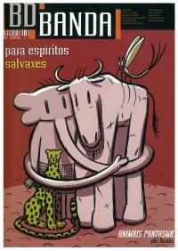 Portada de BD Banda - nº 3 - Agosto 2008