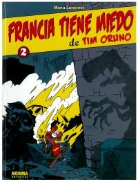 Portada de Francia tiene miedo de Tim Oruno. 2