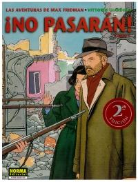 Portada de ¡No pasarán! Las aventuras de Max Fridman - Tomo 1
