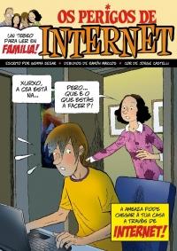 Portada de Os perigos de Internet