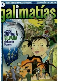 Portada de Galimatías - Nº 08 - 10 de xullo de 2009