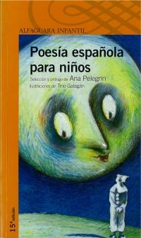 Portada de Poesía española para niños