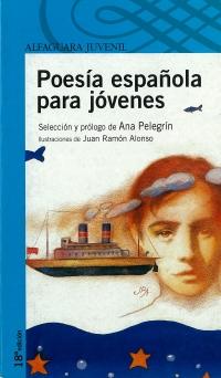 Portada de Poesía española para jóvenes