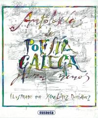 Portada de Antoloxía de poesía galega para nenos