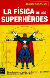 Portada de La física de los superhéroes