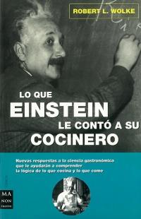 Portada de Lo que Einstein le contó a su cocinero