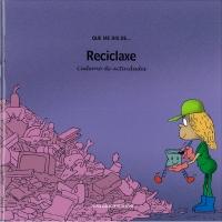 Portada de Reciclaxe. Caderno de actividades