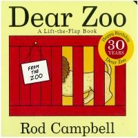 Portada de Dear Zoo. A Lift-the-Flap Book