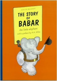 Portada de The Story of Babar
