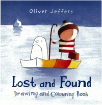 Portada de Lost and Found. Drawing and Colouring Book