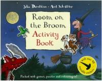 Portada de Room on the Broom. Activity Book