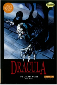 Portada de Dracula. Original Text. The Graphic Novel
