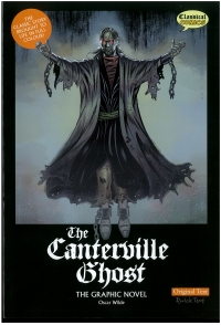 Portada de The Canterville Ghost. Original Text. The Graphic Novel