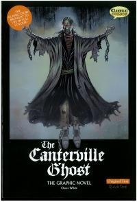 Portada de The Canterville Ghost. Original Text. The Graphic Novel