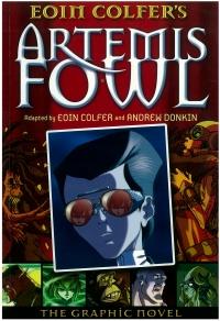 Portada de Artemis Fowl. The Graphic Novel