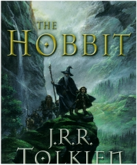 Portada de The Hobbit. An Illustrated Edition of the Fantasy Classic