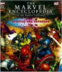 Portada de The Marvel Encyclopedia
