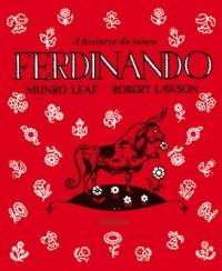 Portada de A historia do touro Ferdinando