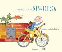 Portada de NIcolás va a la biblioteca