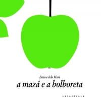 Portada de A mazá e a bolboreta