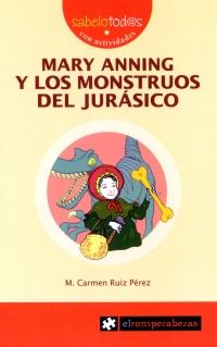 Portada de Mary Anning y los monstruos del Jurásico