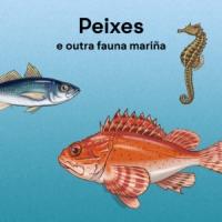 Portada de Peixes e outra fauna mariña