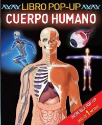 Portada de Libro y póster pop up Cuerpo Humano