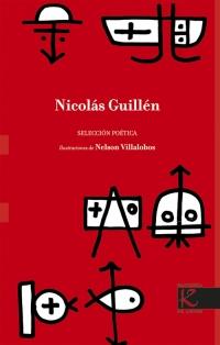 Portada de Nicolás Guillén. Selección Poética