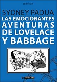 Portada de Las emocionantes aventuras de Lovelace y Babbage
