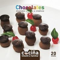 Portada de Cociña infantil e familiar:chocolates