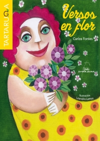 Portada de Versos en flor