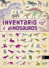 Portada de Inventario ilustrado de dinosauros