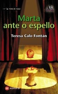 Portada de Marta ante o espello