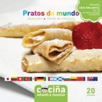 Portada de Cociña infantil e familiar: Pratos do mundo