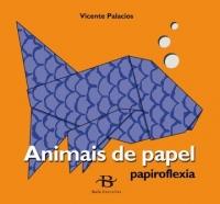 Portada de Papiroflexia. Animais de papel