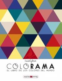 Portada de Colorama. El libro de los colores del mundo