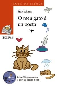 Portada de O meu gato é un poeta
