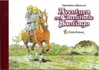 Portada de Aventura no Camiño de Santiago