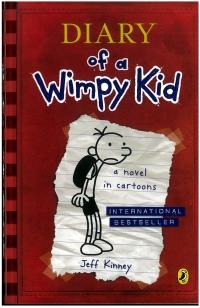 Portada de Diary of a Wimpy Kid