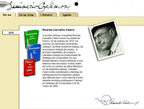 Semana das Letras Galegas 2020 | CEIP de Cedeira
