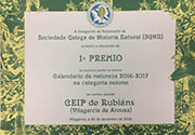 Diploma SGHG calendario bosque