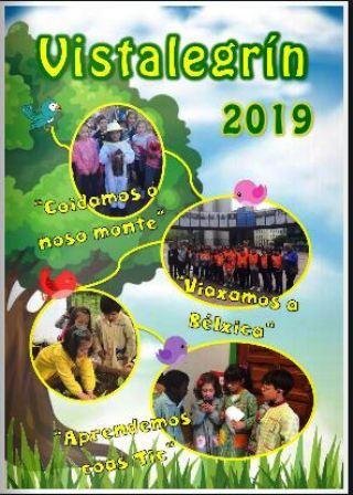Revista Escolar: VISTALEGRÍN 2019