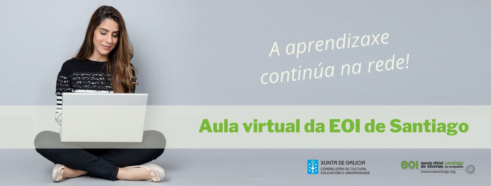 Aula virtual da EOI de Santiago de Compostela