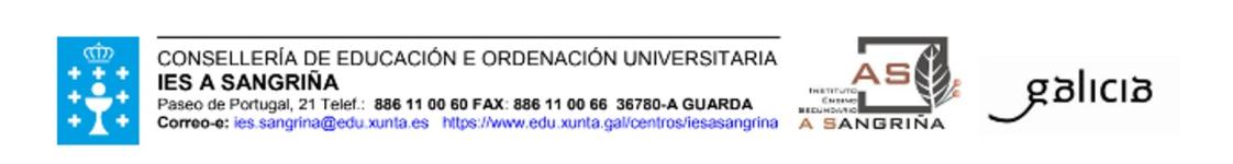 Logo of IES A Sangriña