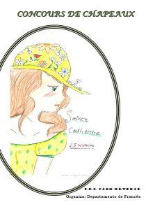 Cartel concurso de sombreiros