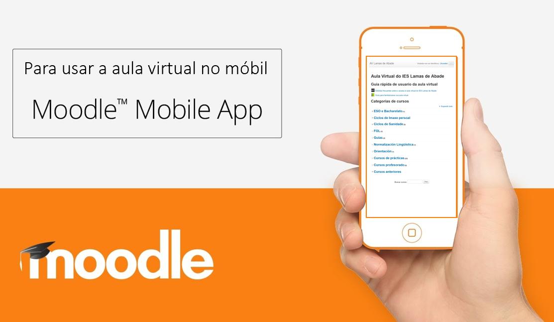 Aula Virtual no móbil: Moodle Moble App