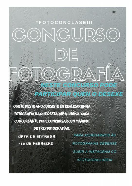 Cartel concurso fotográfico